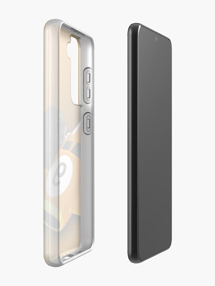 Alternate view of McLaren M10B Case & Skin for Samsung Galaxy