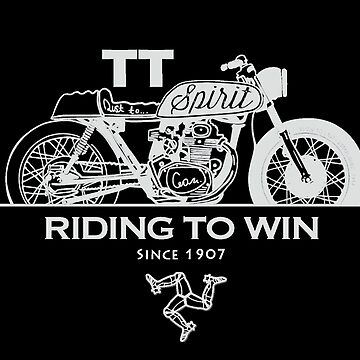 Isle Of Man TT Racing Spirit Of The Racers by thespottydogg