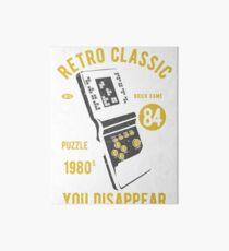 RETRO CLASSIC TETRIS 1980 IF YOU FIT IN YOU DISAPPEAR     T-SHIRT Art Board