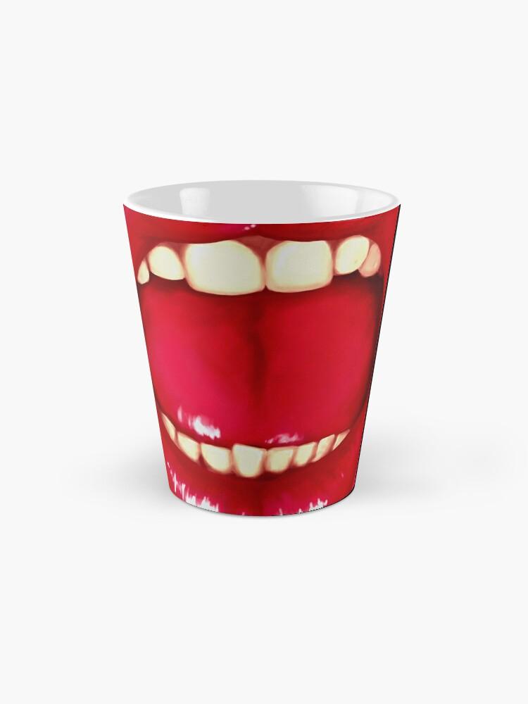 Alternate view of Shouting Mouth Mug