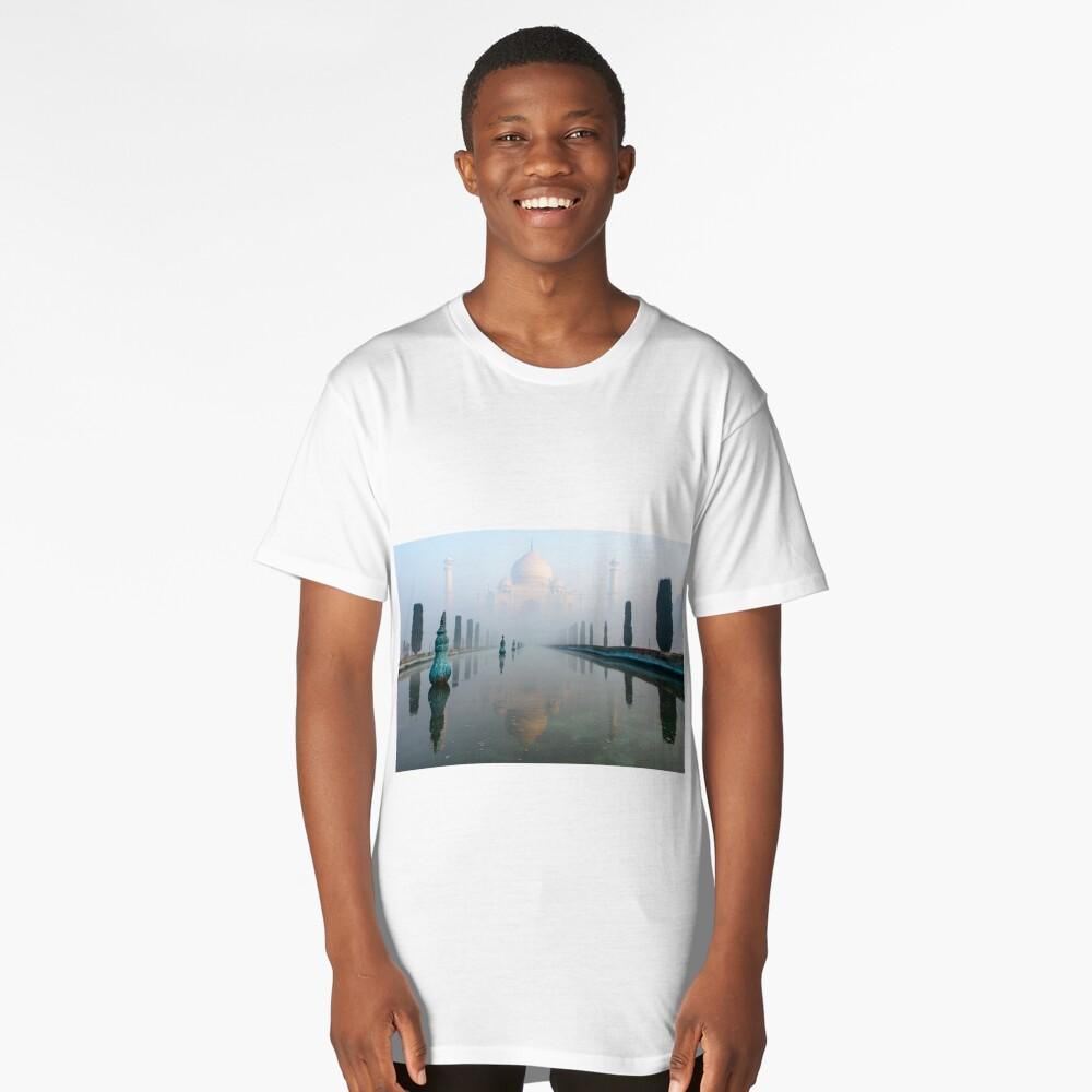 Taj Mahal at Sunrise 01 Long T-Shirt Front