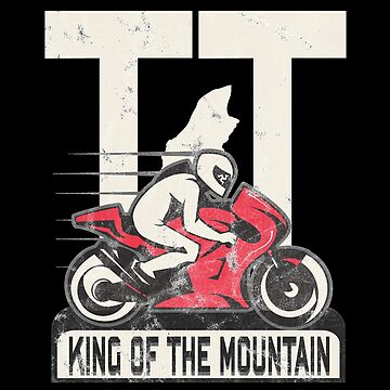 Isle Of Man TT Racing Shirt Tourist Trophy Biker by thespottydogg