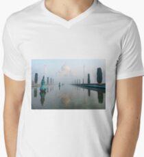 Taj Mahal at Sunrise 01 Men's V-Neck T-Shirt