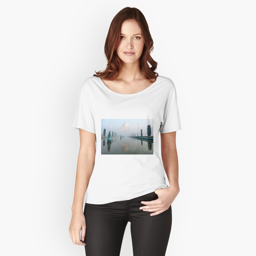 Taj Mahal at Sunrise 01 Women's Relaxed Fit T-Shirt Front
