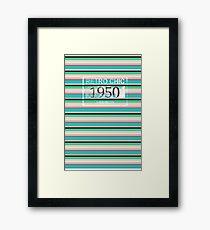 RETRO CHIC 1950 Framed Print