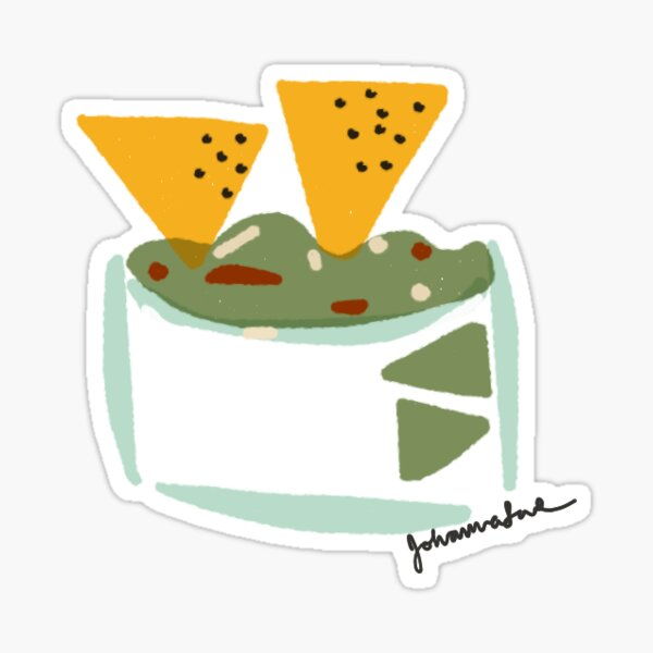 Chips and Dip -- Sticker Option Sticker