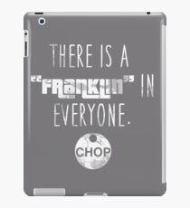 Franklin in Everyone (White) iPad Case/Skin