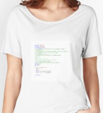 SCI 120 - Computer Methods in Science: Factorial of a non-negative integer n, denoted by n! Women's Relaxed Fit T-Shirt