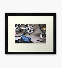 Spring Tune-up Framed Print