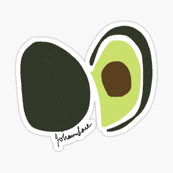 Avocado -- Sticker Option Sticker