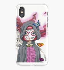 Pop Surreal Death Card iPhone Case/Skin