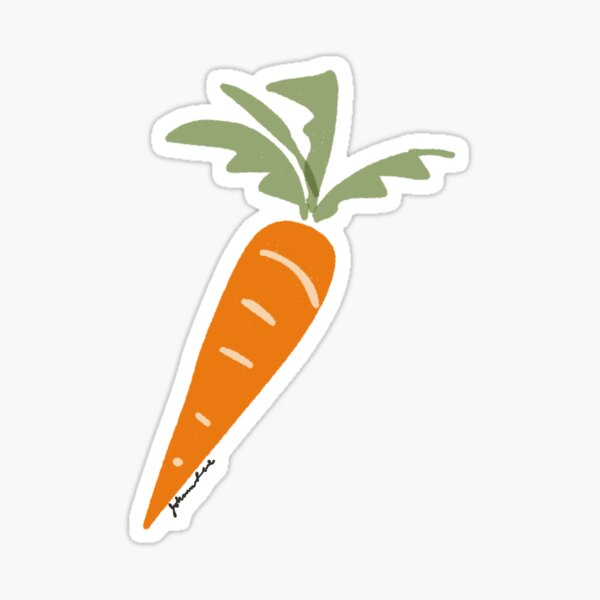 Carrot -- Sticker Option Sticker