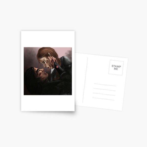 """I regret that we did not have time, Nesta."" Postcard"