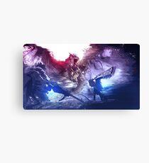 Monster Hunter - World Canvas Print