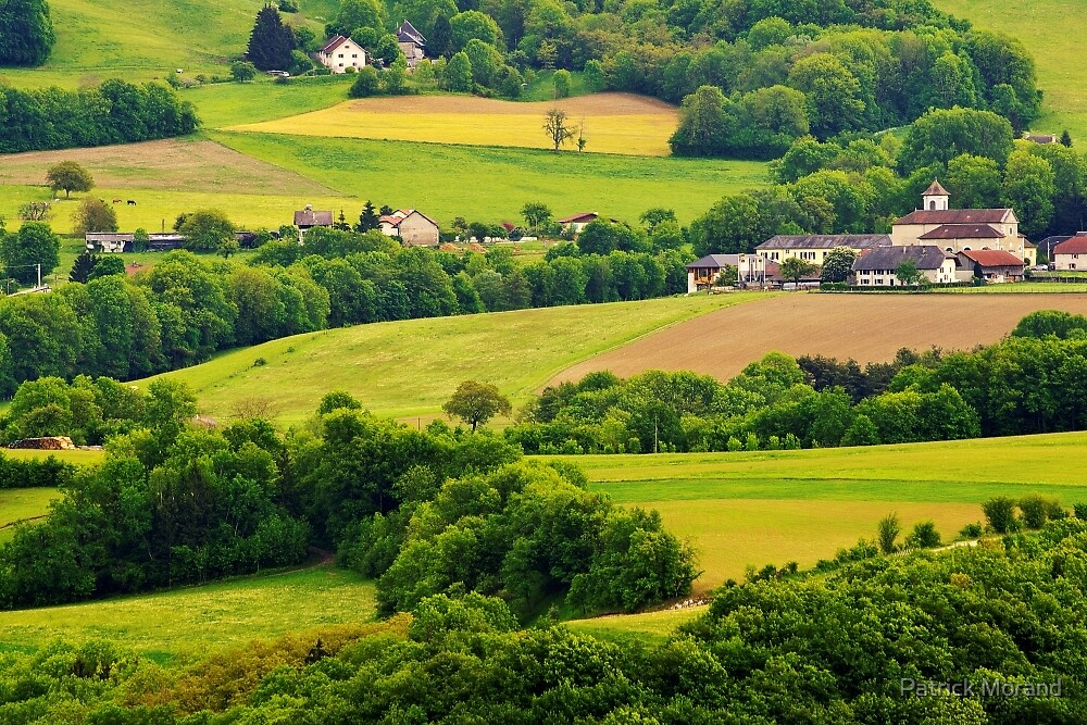 French Countryside By Patrick Morand Redbubble - French country side