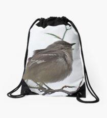 Tra-la-la, tweedlee dee dee Drawstring Bag