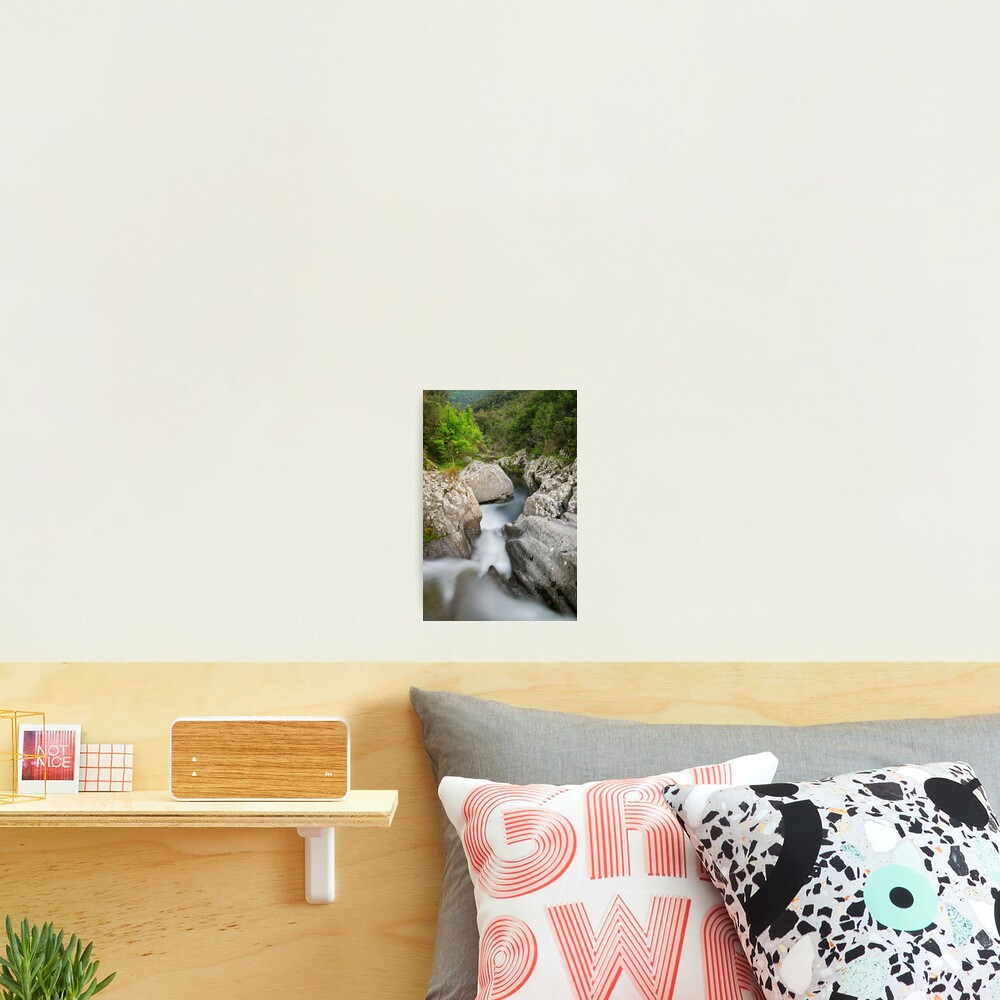 Flow in the Verne river Photographic Print