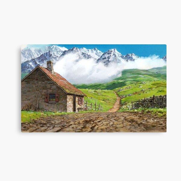 paysage Impression sur toile