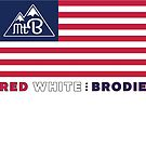 Red White and Brodie by MountBrodie
