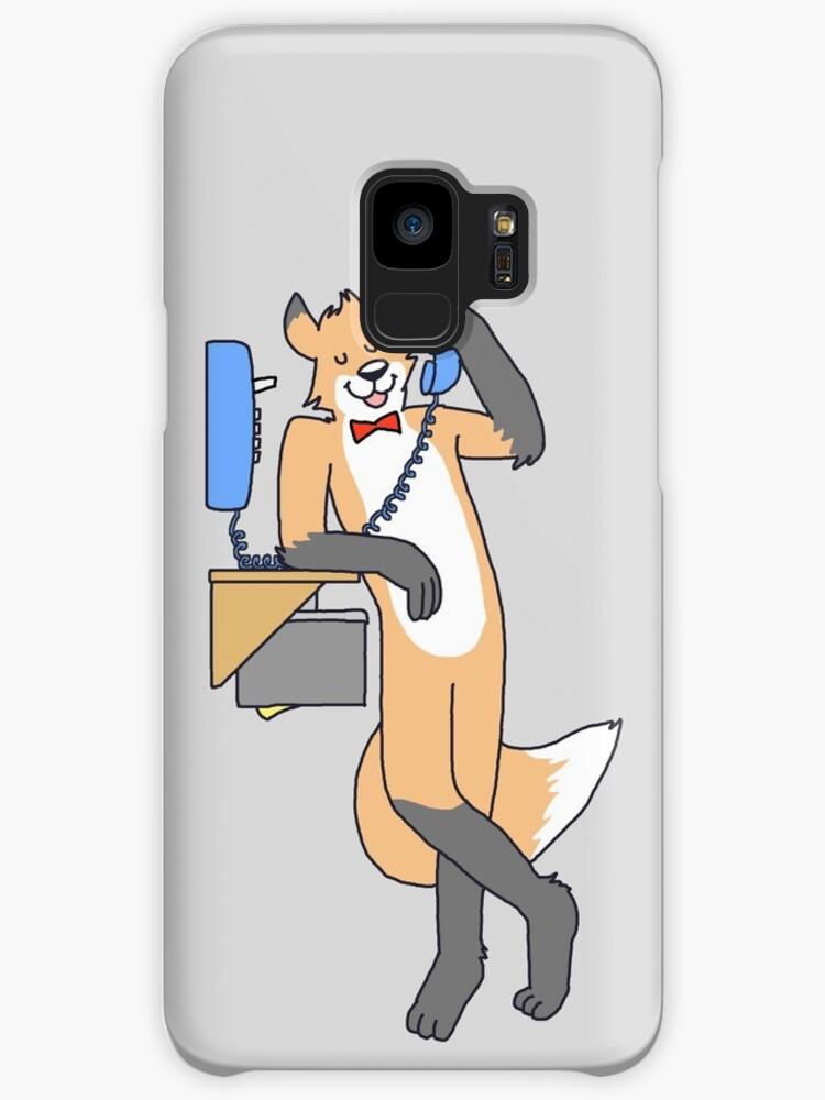 S8 Edition Landline Telephone Fox grey BG by outsidewolves
