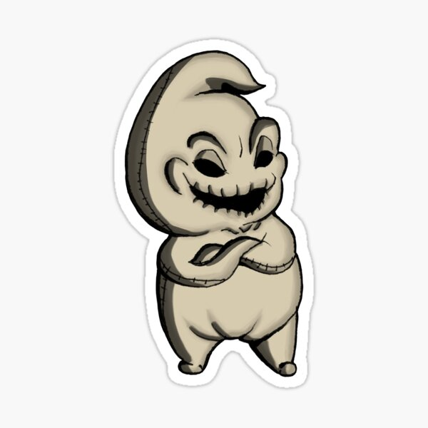 Oogie Boogie Pegatina