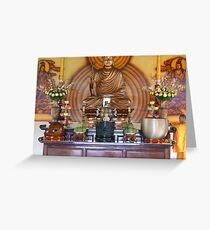 Offerings for Buddha Greeting Card
