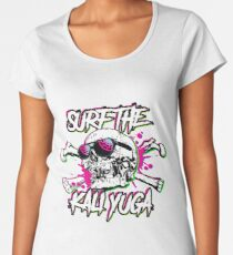 Surfin the kali yuga Women's Premium T-Shirt