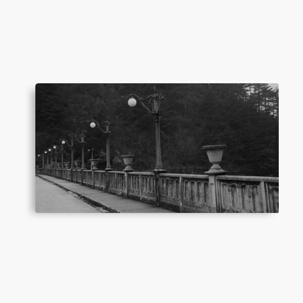 Old bridge in Mt. Lu, China Canvas Print