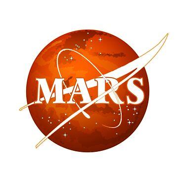 Mars planter Nasa by DominMartin