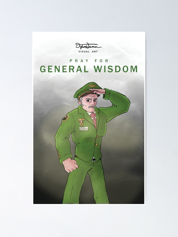 Alternate view of General Wisdom Poster Poster