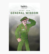 General Wisdom Poster Photographic Print
