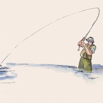 Flyfisherman by salamandaz