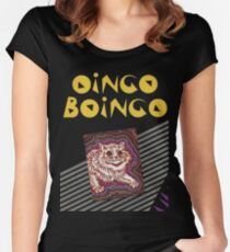 Oingoboingo Tailliertes Rundhals-Shirt