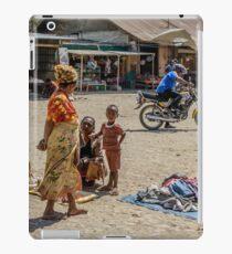 Market Scene iPad Case/Skin