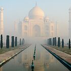 Taj Mahal at Sunrise 02 by Werner Padarin