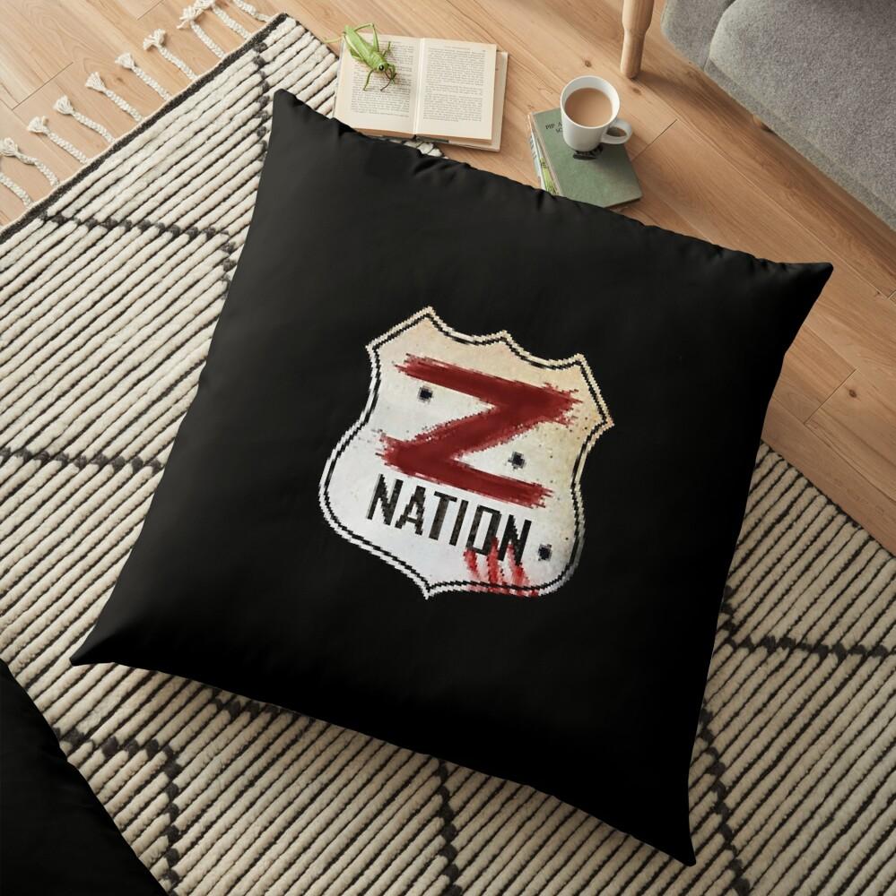 Z Nation Floor Pillow