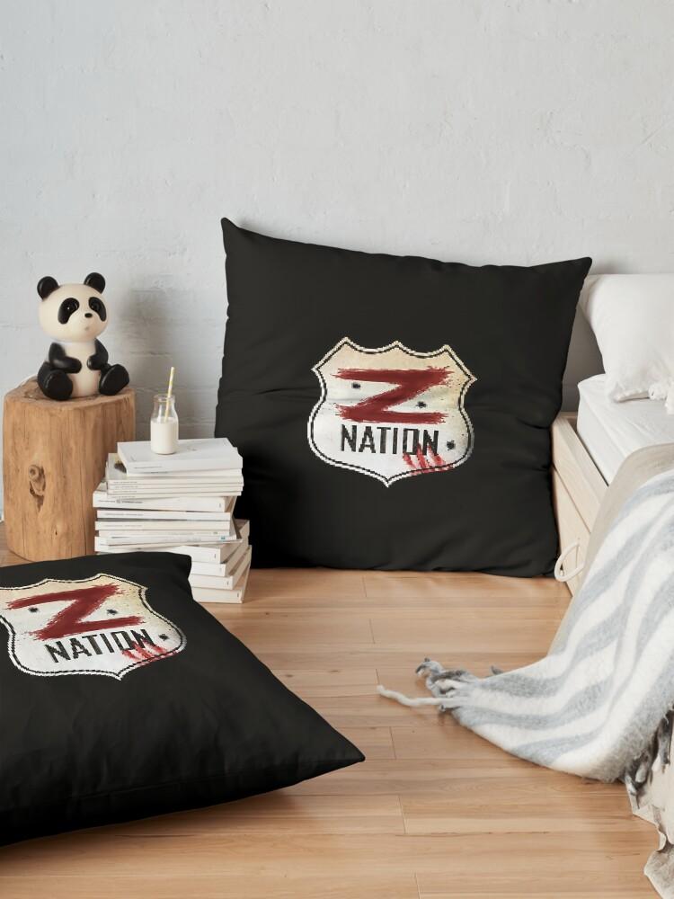 Alternate view of Z Nation Floor Pillow