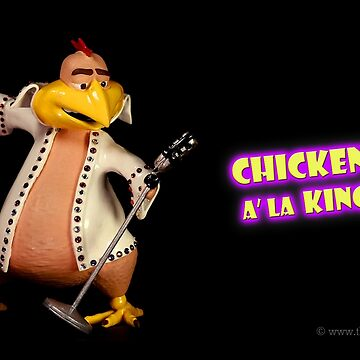 Chicken A' La King- Elvis Tribute-  © TheClayman.com / Paul Moldovanos by theclayman