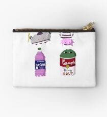 Dasani Axolotl and Campbell Black Rain Frog Studio Pouch
