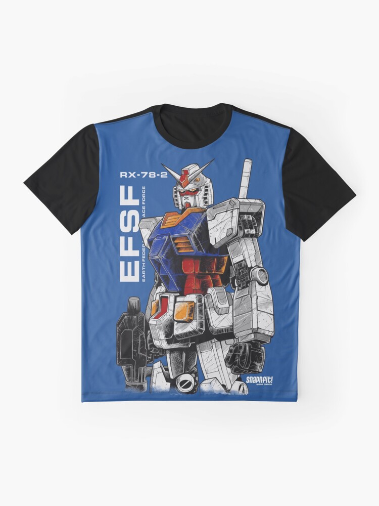 Alternative Ansicht von Gundam Grafik T-Shirt