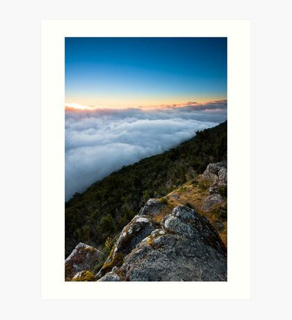Way Above The Clouds Art Print