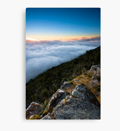 Way Above The Clouds Canvas Print