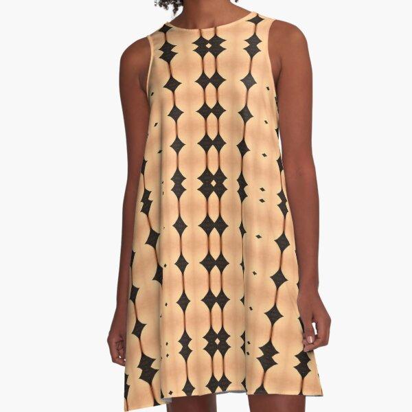 design, decoration, motif, marking, ornament, ornamentation, pattern, drawing, figure, picture A-Line Dress