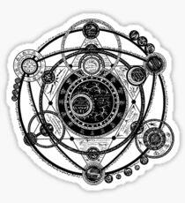 Occult Astrolobe Sticker
