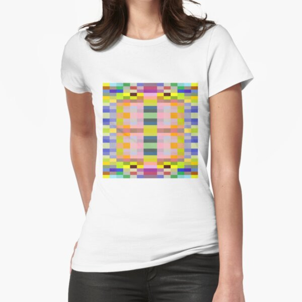 motif, marking, ornament, ornamentation, pattern, drawing, figure, picture Fitted T-Shirt