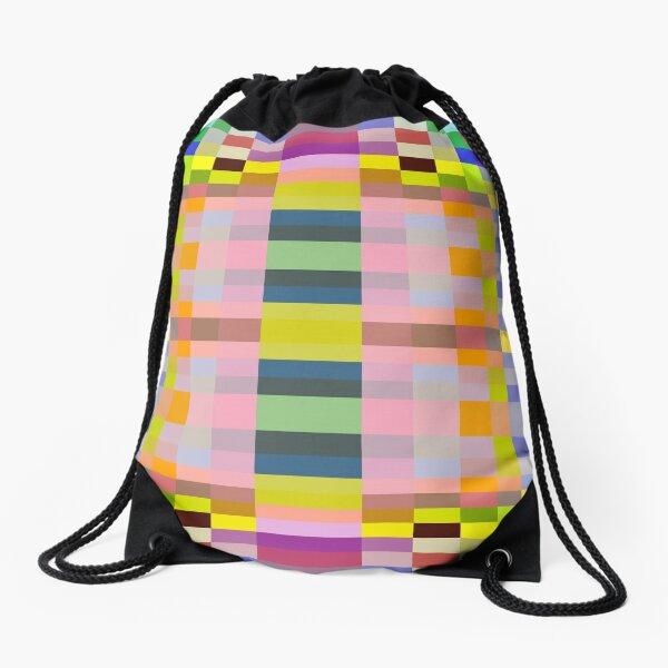motif, marking, ornament, ornamentation, pattern, drawing, figure, picture Drawstring Bag