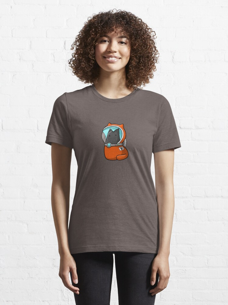 Alternate view of Space Cat Essential T-Shirt
