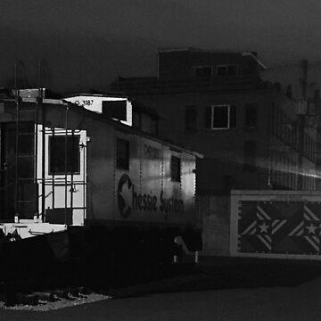 Old train car. by KatherineHarris