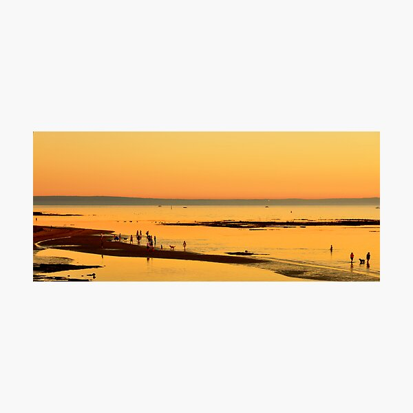 Evening at the beach Photographic Print