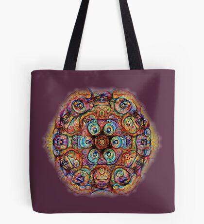 #DeepDreamed Amulet Tote Bag